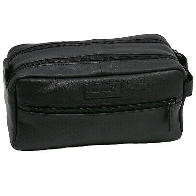 AlpineSwiss Sedona Bag Genuine Leather Dopp