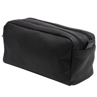 AlpineSwiss Toiletry Genuine Leather Dopp Kit Travel