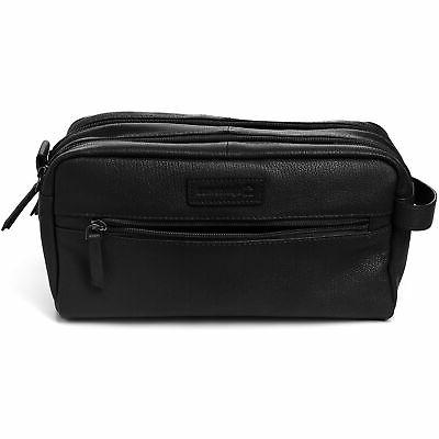 AlpineSwiss Sedona Toiletry Genuine Leather Shaving Kit Dopp Kit