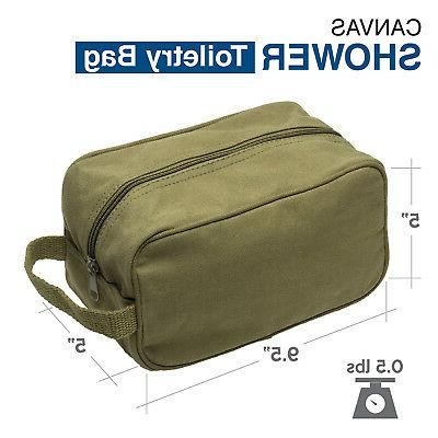 Army Force Gear Type Canvas Shower Kit Bag