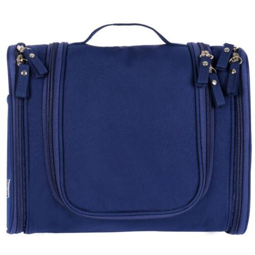 Blue Hanging Toiletry Travel Kit Large Essentials