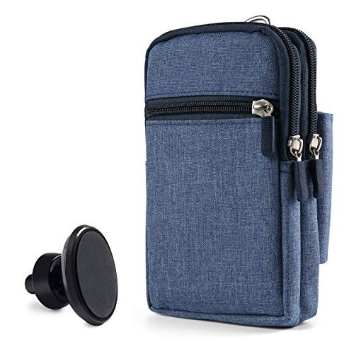 blue protective drop proof pouch
