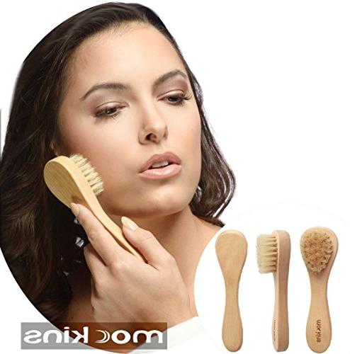 mockins Natural Body Detachable Brush Long Wooden Dry To Exfoliate Cellulite - Best Day Gift …