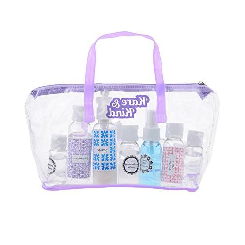 Kare Travel Set-Refillable-TSA/Airline and 9 Jars-3 -for Your Favorite and
