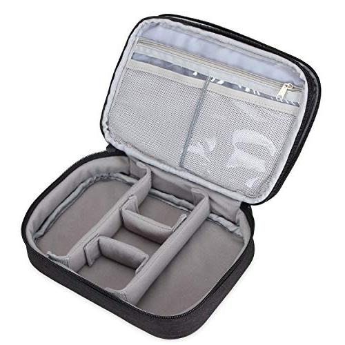 Teamoy Makeup Case, Organizer Bag Handle Strap and