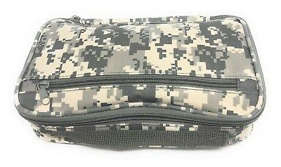 Camo Organizer Bathroom Cosmetics Toiletry Pouch