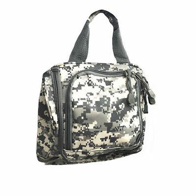 Camo Travel Toiletry Cosmetic Medicine Make-Up Kit