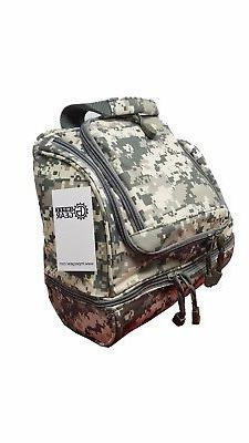 Camo Travel Organizer Accessory Toiletry Medicine Kit Bag