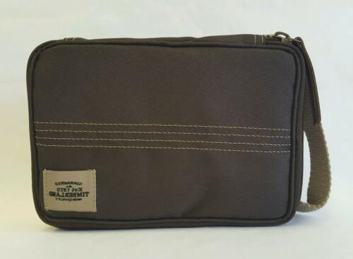canvas flat pack travel kit toiletry bag