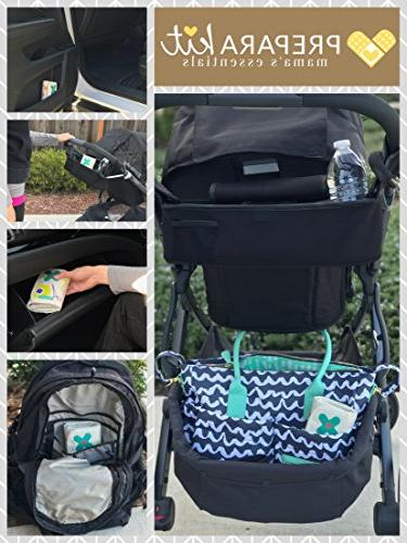 PreparaKit First Mom First Aid Kits! 50 Essentials for Bag Small First for Car,