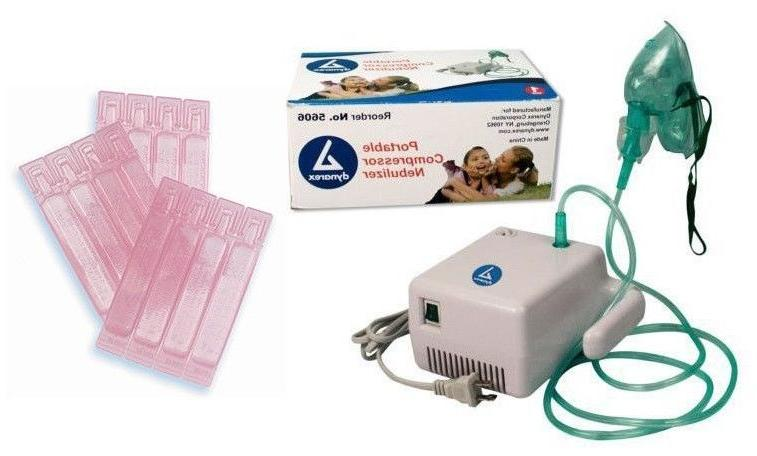 Compact Compressor with + 5 Filters Saline Starter