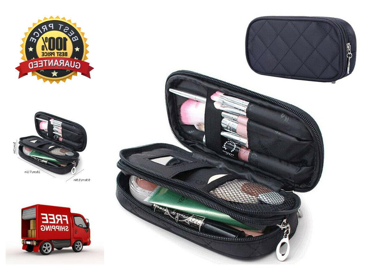Makeup Brush Bags Travel Kit Pouch Organizer Cosmetic Bag Pe