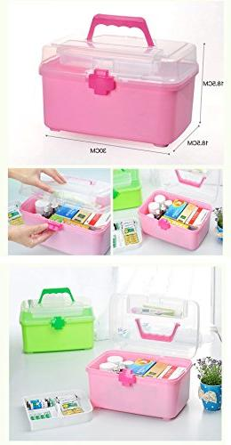 Creative Large Portable First Aid Travel Medical Box,
