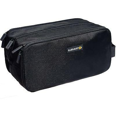 dopp kit compartments waterproof bag easy organization trave