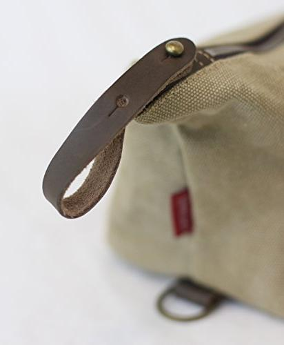 Travel Bag Canvas Leather