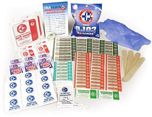 Be Smart 100 Piece Kit, Protect with great for any office, vehicle, camping sports. Pound