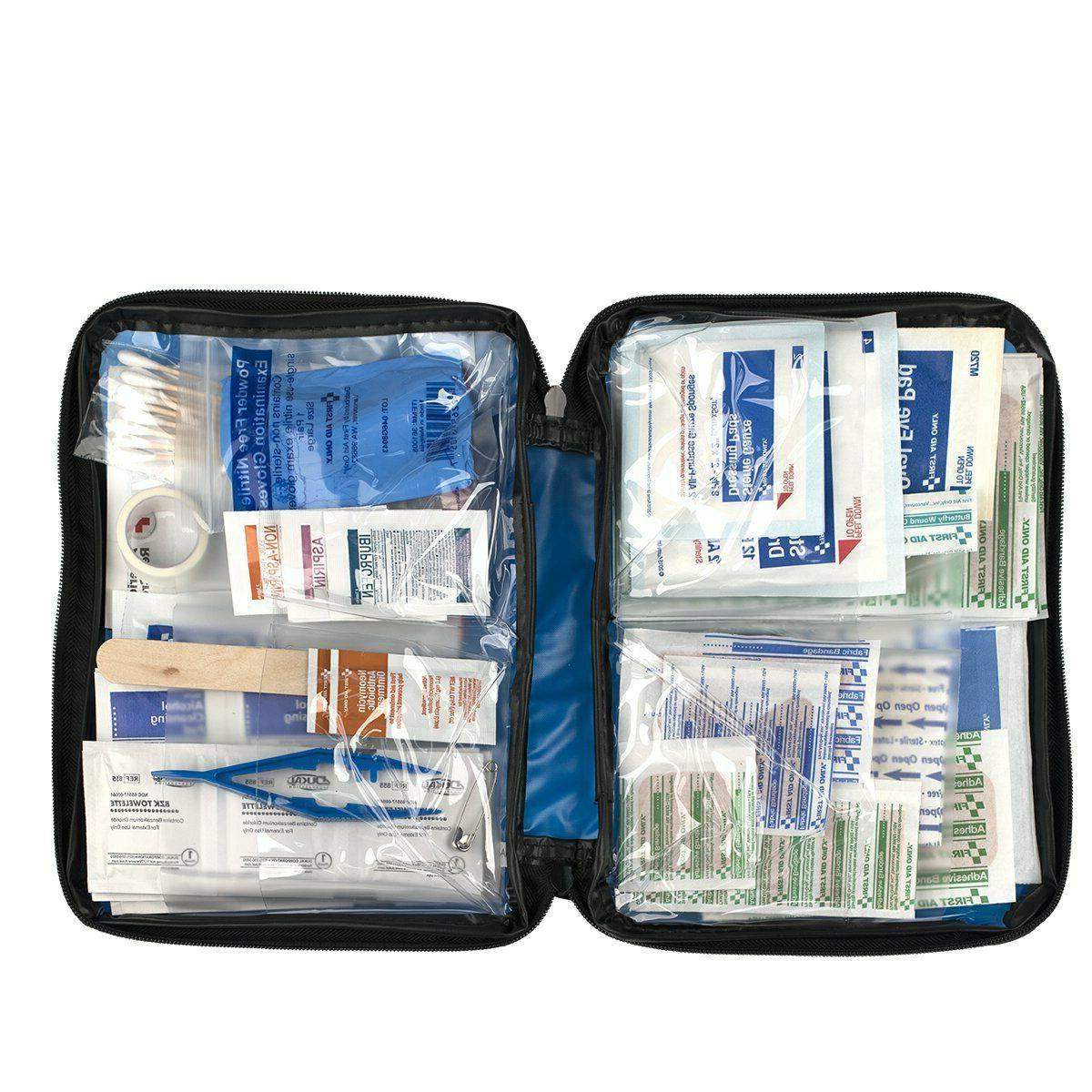First Aid Kit All Purpose Emergency Car Boat Trauma Outdoor