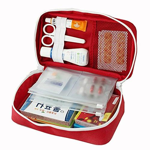 first aid kit empty bag