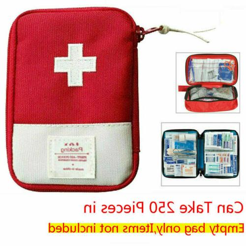 First Aid Kit Carry Bag Camping Car Holiday Travel