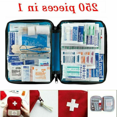 first aid medical emergency kit carry bag