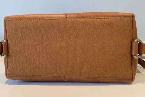 RAWLINGS Frankie Kit Toiletry Brown Leather Cognac NEW