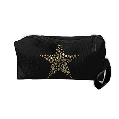 gold star bag zipper case