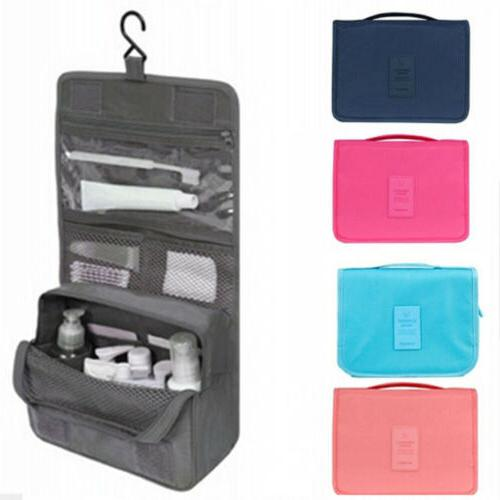 hanging makeup toiletry bag large kit folding