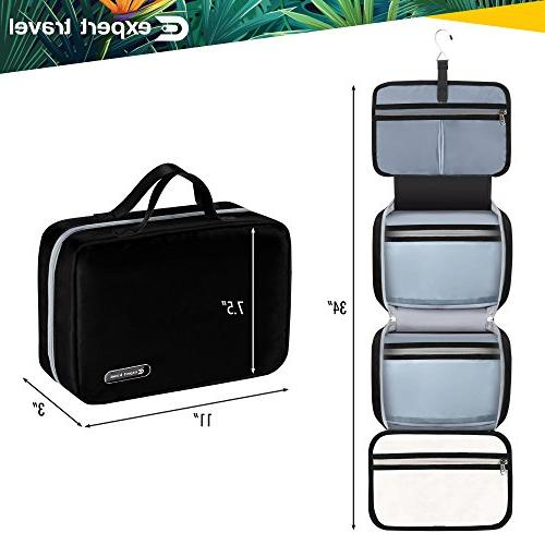Hanging Travel Toiletry Bag for | Makeup | Cosmetic Bag and | Proof | 2 Sizes - & XL