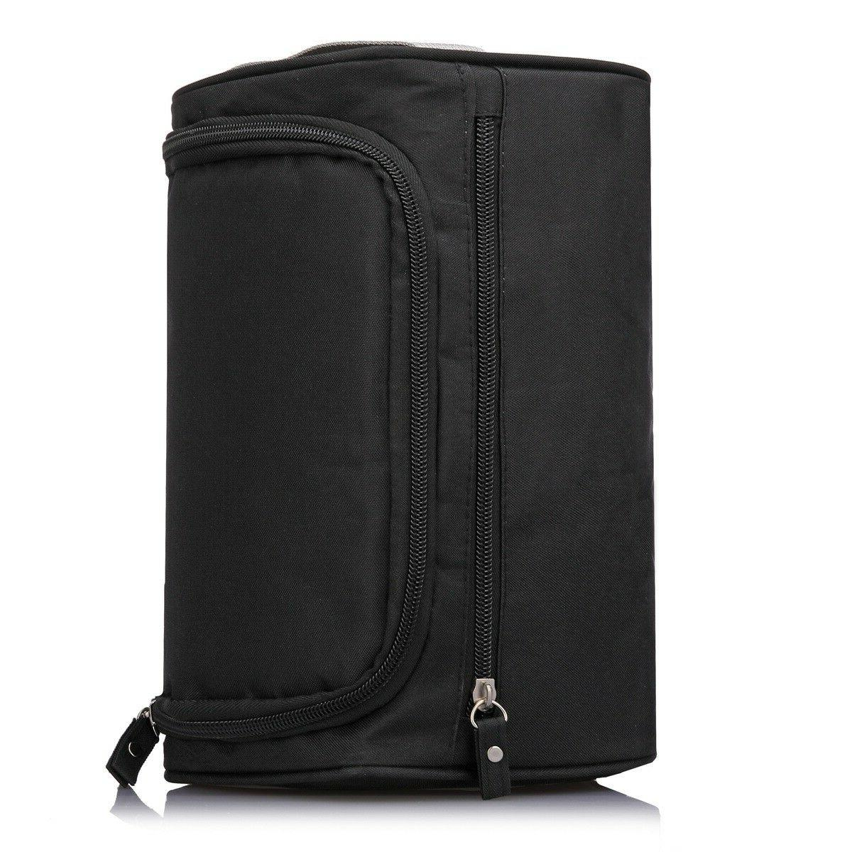 hanging toiletry bag pack it flat travel