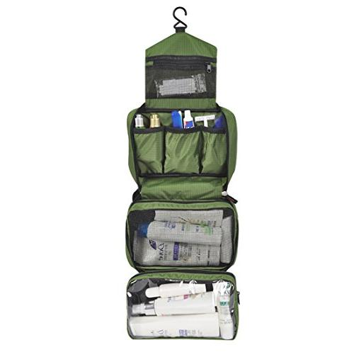 ae75628608a6 Aeman Hanging Travel Toiletry Bag Portable Foldable Cosmetic