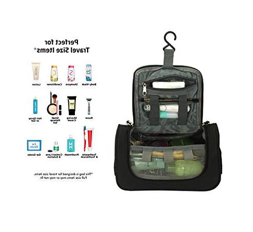 Cbin Wash Water Resistant Tactical Dopp Kit for Home, Gym, Hotel