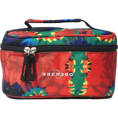 kids toiletry and accessory train case bag