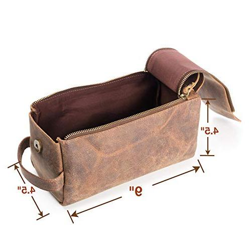 Leather Men - Stylish, and Thicker Than Bags - This Vintage Mens is Small, Sturdy Water Resistant Store All Your in