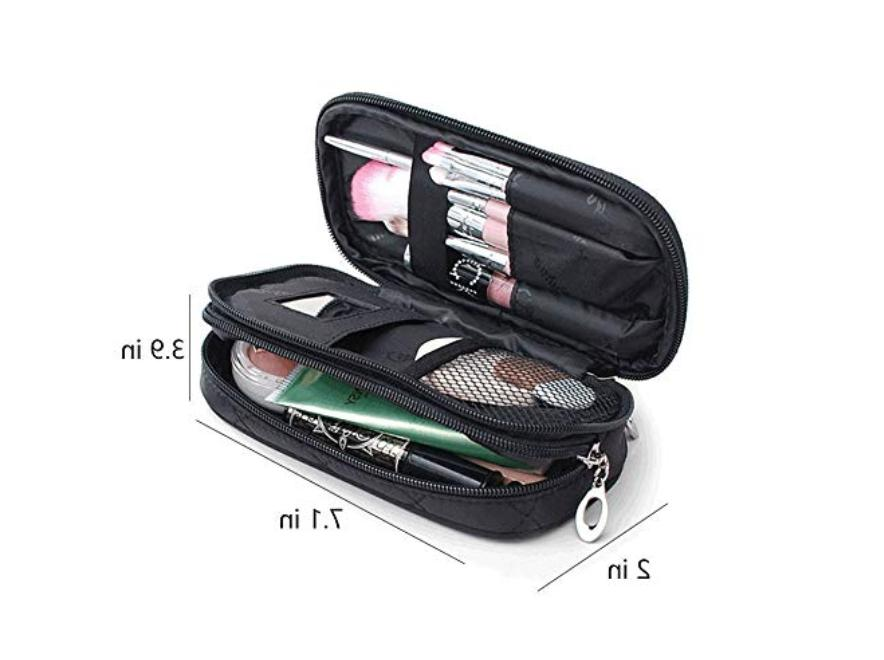 Makeup Bag With Travel Kit, Pouch Bag, Makeup Brush Bag