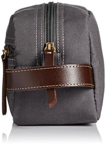 Timberland Canvas Travel Kit Charcoal, One