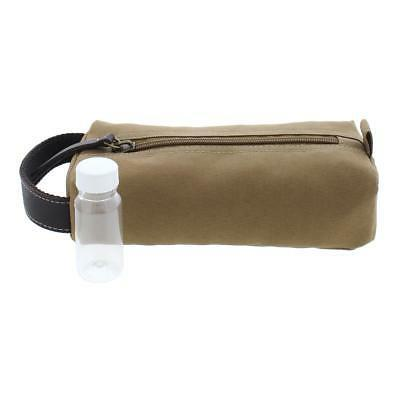 Timberland Mens Tan Canvas Utility Case Kit O/S