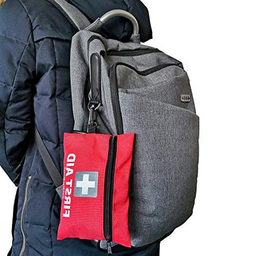 General Aid Kit,92 First Includes Face Home, Vehicle,Camping, & Outdoor
