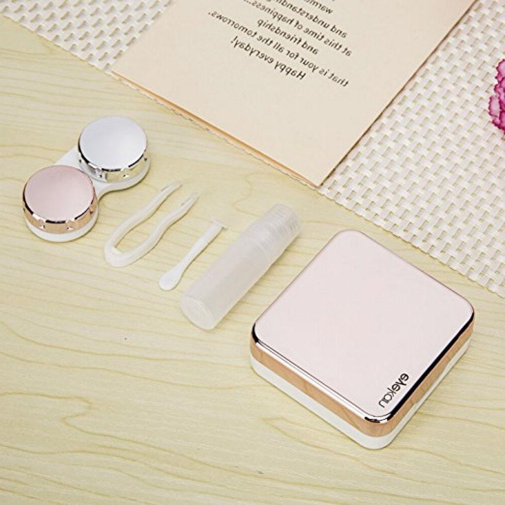 Mini Contact Travel Case Mirror