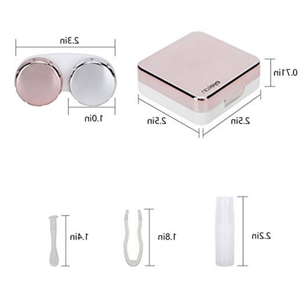 Mini Travel Case Kit Set Mirror
