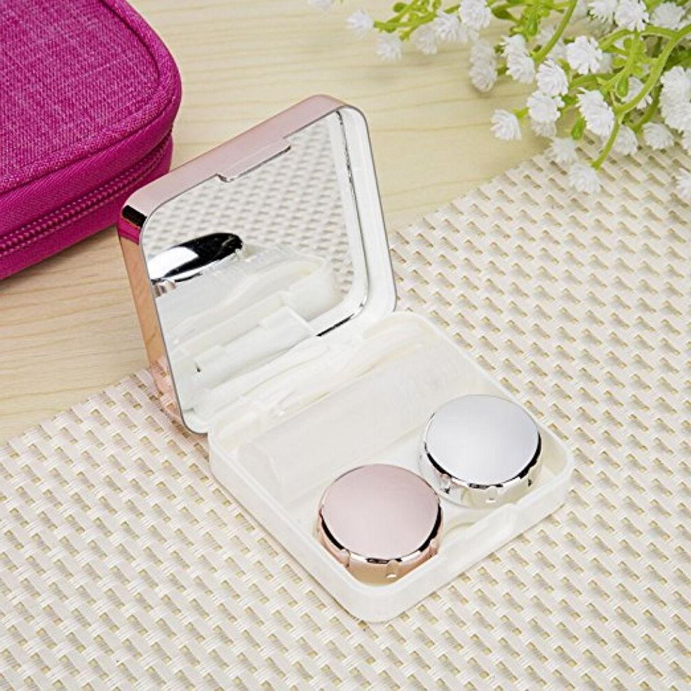 Mini Contact Travel Box Kit Mirror