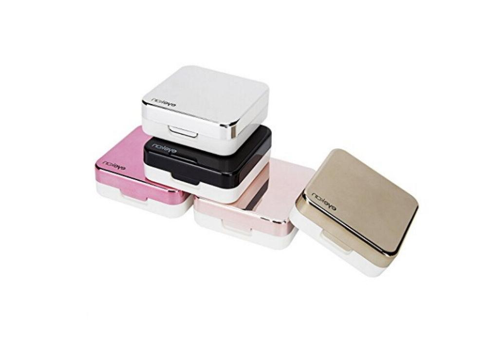 mini simple contact lens travel case box