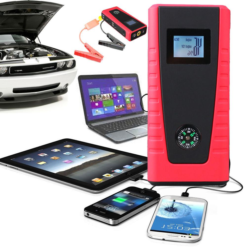 Indigi Mobile Car Vehicle JUMP STARTER or Cell Laptop Hiking Camping Travel