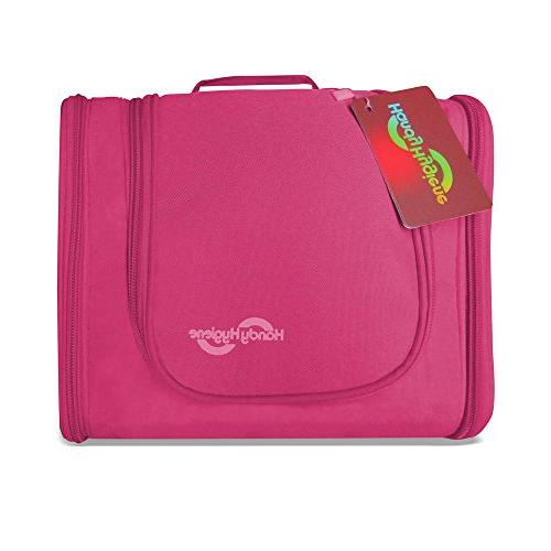 multi compartment hanging toiletry bag