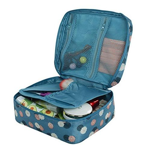 Multifunction Toiletry Bag - Makeup Cosmetic Beach organizer