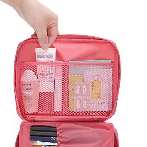 Multifunction Portable Bag Makeup Cosmetic Beach Pouch, bathroom organizer