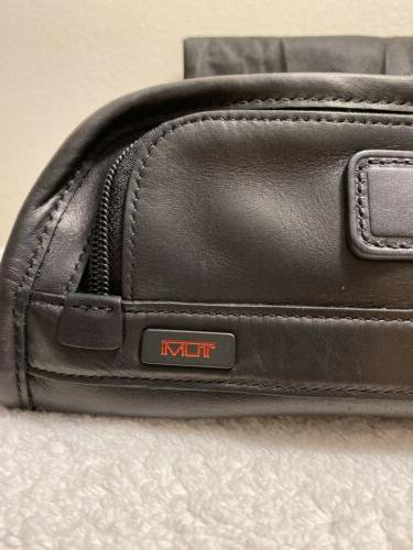 Tumi Natural Glove Leather Compact Kit Style#