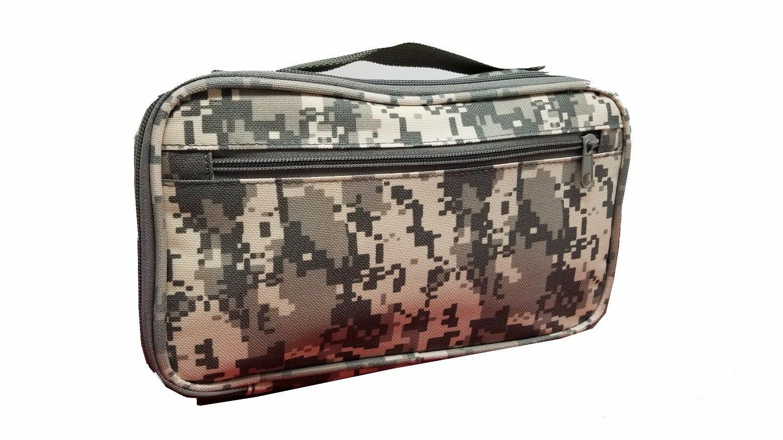 New CAMO TRAVEL Water Resistant BAG Mens Toiletry Kit