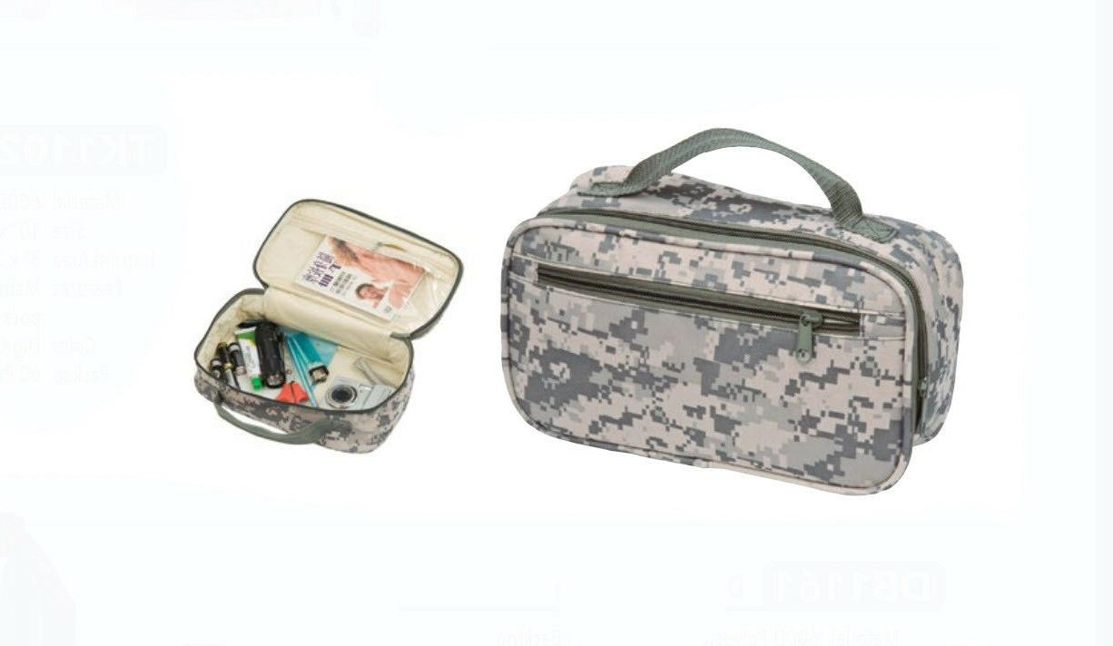 new 10 green camo travel water resistant