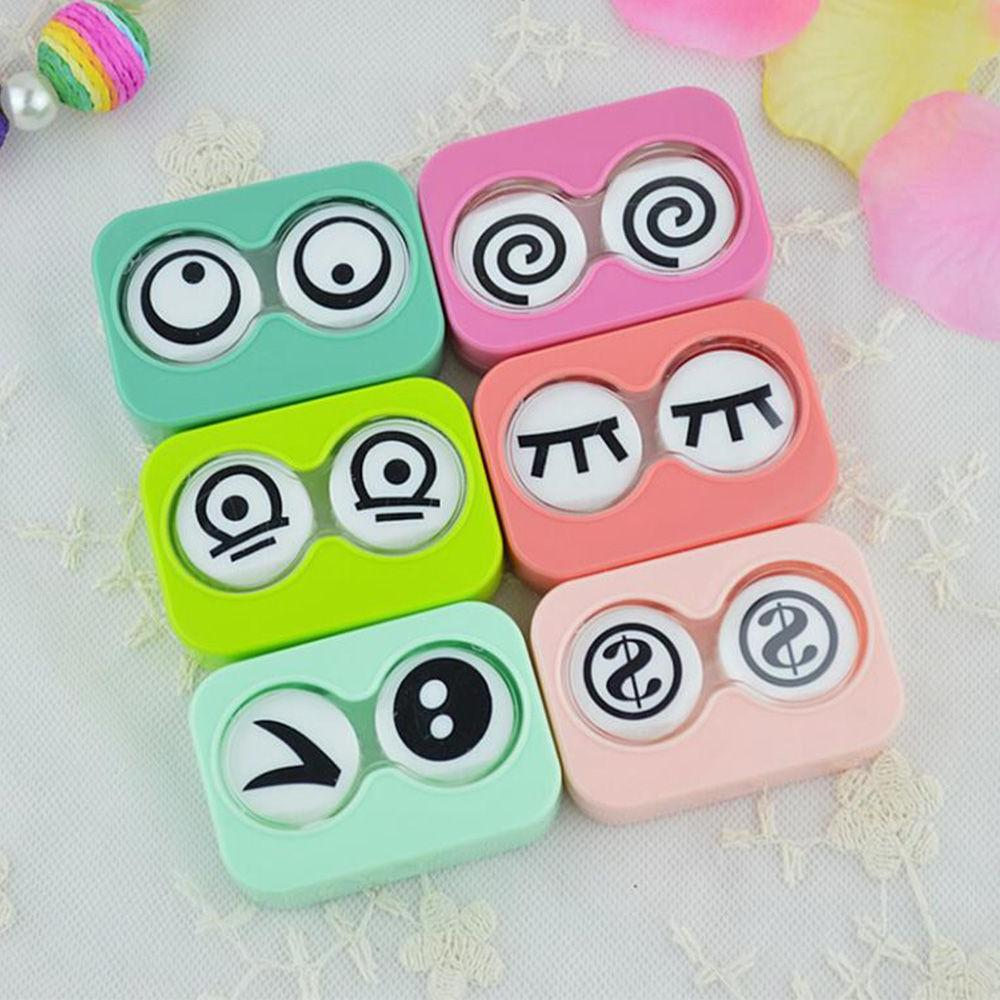 New Arrival Contact Lens Container <font><b>Travel</b></font> <font><b>Kit</b></font> Set Storage Holder Mirror