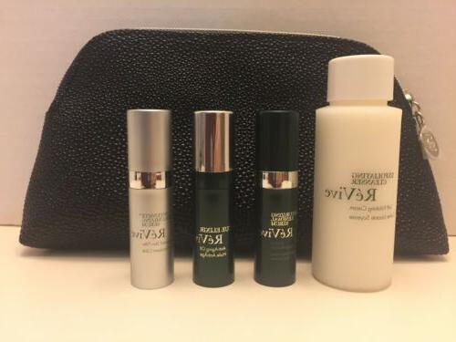 new revive 5 piece gift set travel